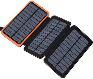 Solar Charger & Power Bank