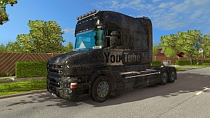 YouTube Grunge Scania T skin mod