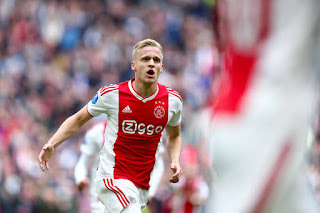 ​Man Utd set eyes on van de Beek as alternative to Aston Villa midfielder Grealish
