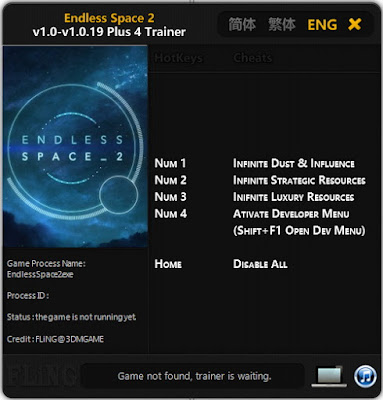 Download Endless Space 2 Trainer