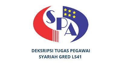 Gaji, Kelayakan & Tugas Pegawai Syariah Gred LS41
