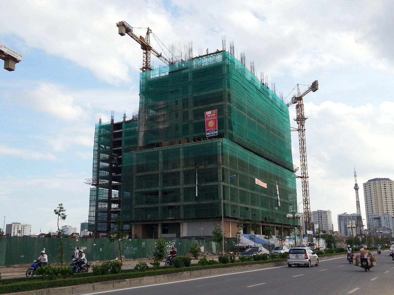 Danh sách các dự án chung cư đang bán tại Hà Nội năm 2016