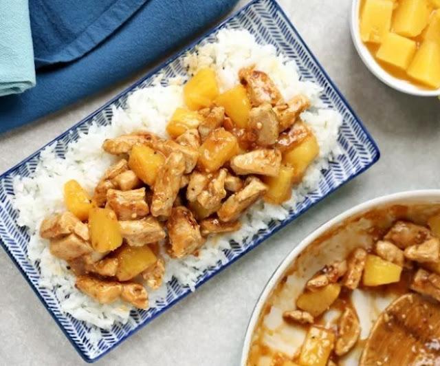 Easy Aloha Pineapple Chicken