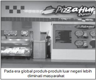 Memudarnya Rasa Cinta terhadap Produk-Produk Dalam Negeri - Dampak Negatif Globalisasi