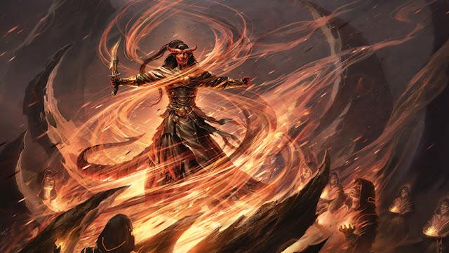 Eligiendo clase en Dungeons & Dragons - Brujo