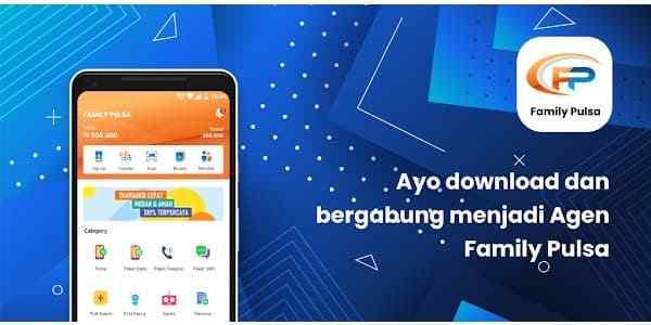 Cara Download dan Menggunakan Aplikasi Android Family Pulsa