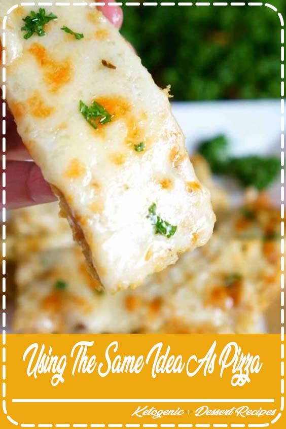 s easy to make a low carb cheesy cauliflower breadsticks recipe instead Using the same idea as pizza