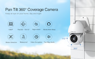 Surveillance IP Camera Wired with Waterproof Night Vision