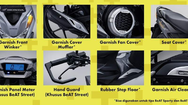 Honda Genuine Accessories All New Honda BeAT 2020