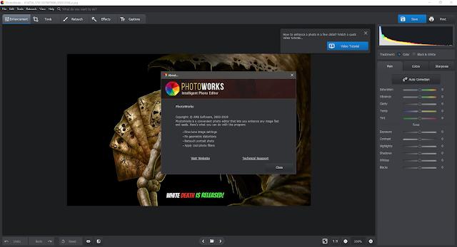 Screenshot AMS Software PhotoWorks 7.0 Full Version