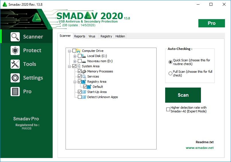 تحميل برنامج Smadav Pro مضاد للفيروسات إضافي لمنع الكمبيوتر من التعرض لهجمات ضارة