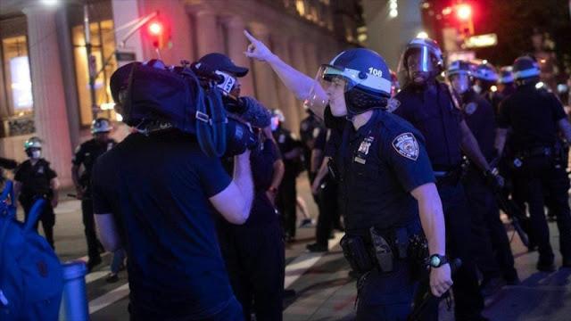 EEUU registra nuevo tipo de violencia, esta vez ante medios