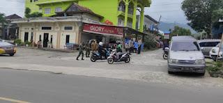 Lewat Patroli Polsek Alla Laksanakan Pendisiplinan Protokol Kesehatan