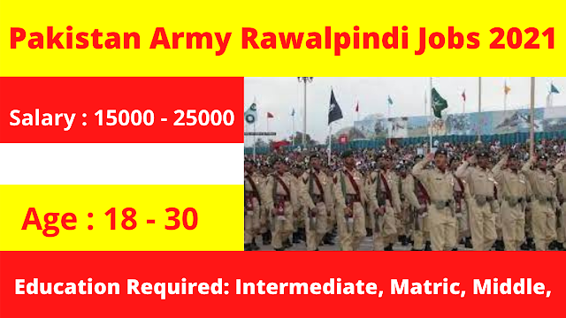 Central Ordnance Depot Rawalpindi Jobs 2021 | Pakistan Army Jobs