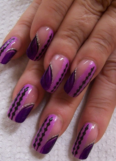 New Fashion Party Nail Designs