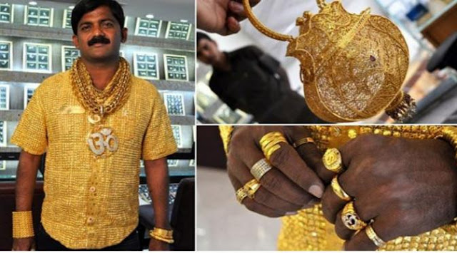 Nabi melarang lelaki memakai emas