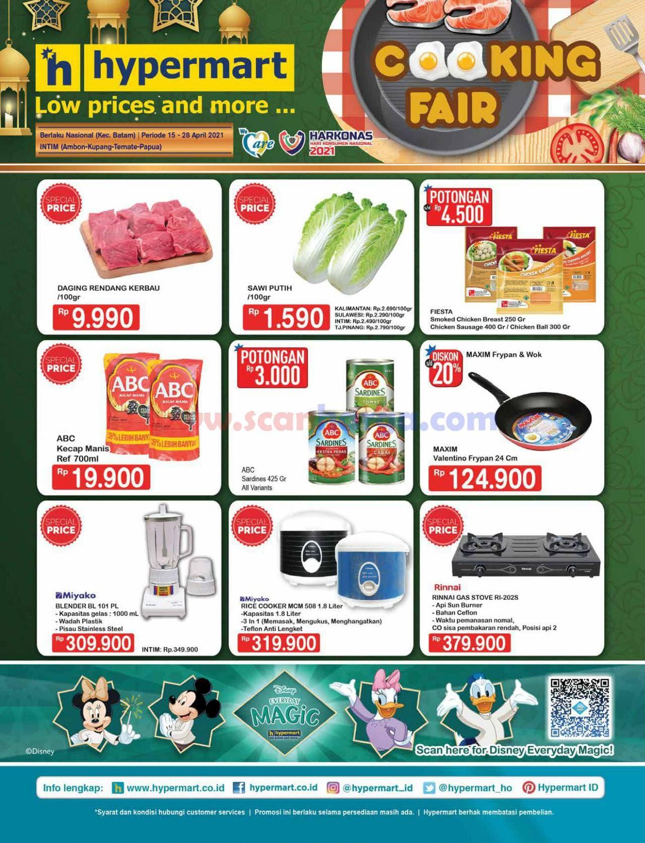 Katalog Promo Hypermart 15 - 28 April 2021
