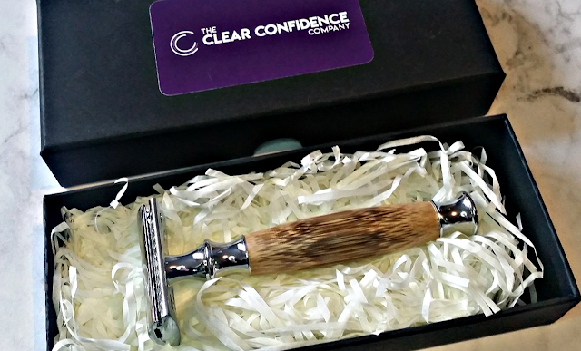 clear confidence razor