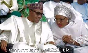 "Buhari says; ""Aisha belongs to my living room and kitchen"""