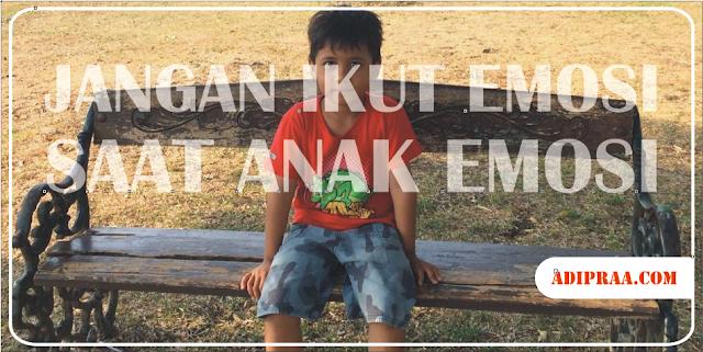 Jangan Ikut Emosi Saat Anak Emosi | adipraa.com