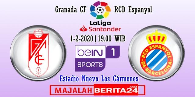Prediksi Granada vs Espanyol — 1 Februari 2020