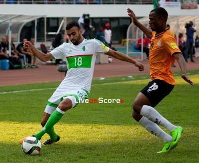 مشاهدة مباراة الجزائر وزامبيا مباشر