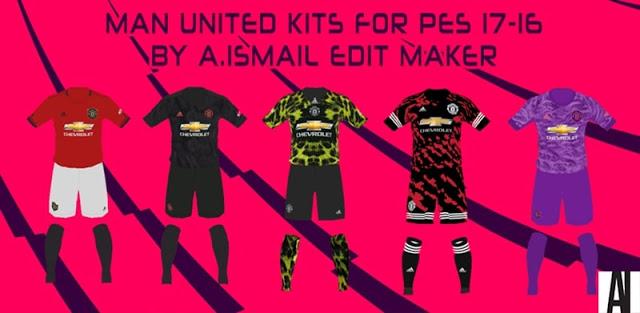 PES 2017 Manchester United Kits 2019-2020