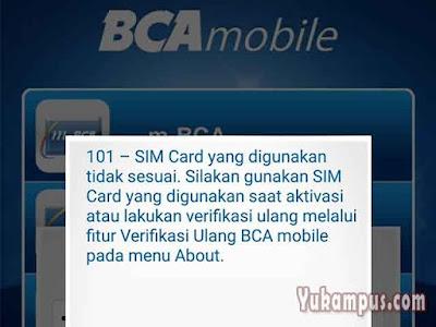 bca mobile tidak bisa diakses login