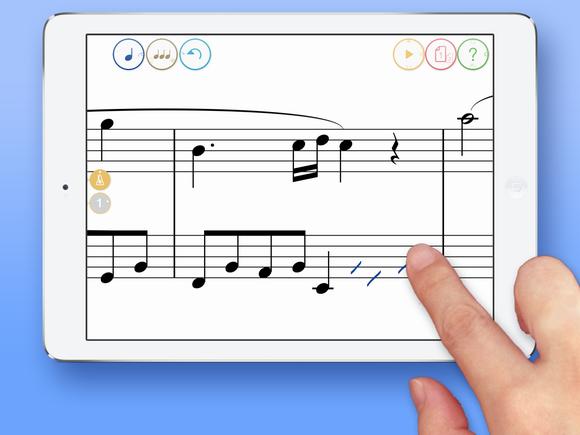 一手在握的打譜軟體---Touch Notation