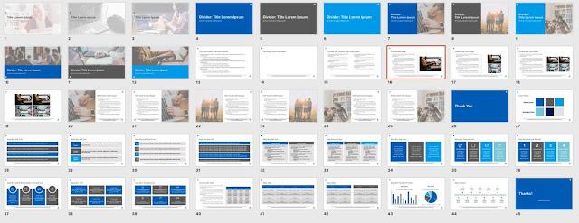 Contoh Hasil Desain Slide Presentasi