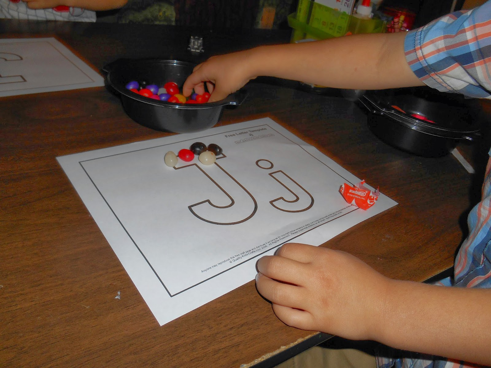 Preschool Letter J Joseph Jelly Beans And Jack
