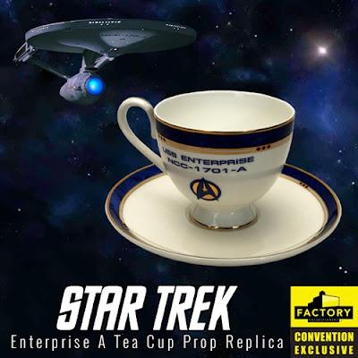 San Diego Comic-Con 2020 Exclusive Star Trek Enterprise A Tea Cup Prop Replica by Factory Entertainment
