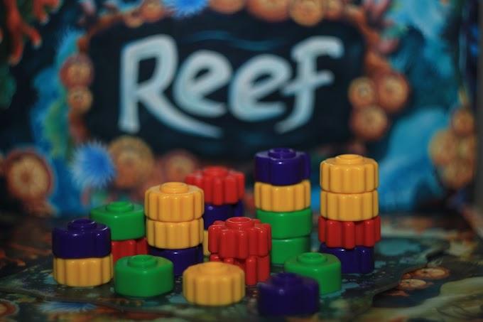 Reef - kolorowa rafa na stole, czyli recenzja abstrakcyjnej gry planszowej