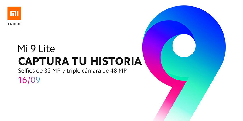Xiaomi will release the Mi 9 Lite on September 16 in Spain