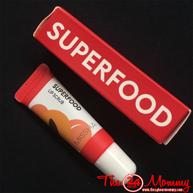 MISSA Superfood Apricot Lip Scrub review