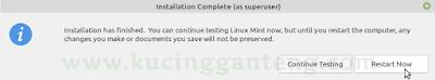 Panduan Lengkap Cara Install Linux Mint 19.2 Untuk Pemula