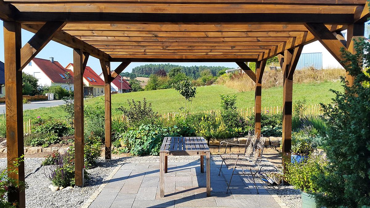 Pergola Holz Bausatz : bautagebuch birkenallee mit gussek haus unsere pergola ist fertig ~ Yasmunasinghe.com Haus und Dekorationen