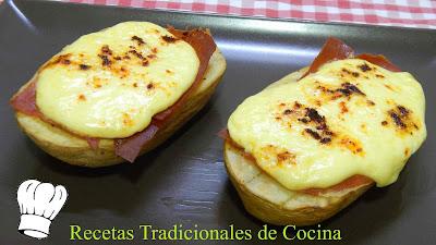 Receta fácil de patatas gratinadas con mayonesa y jamón