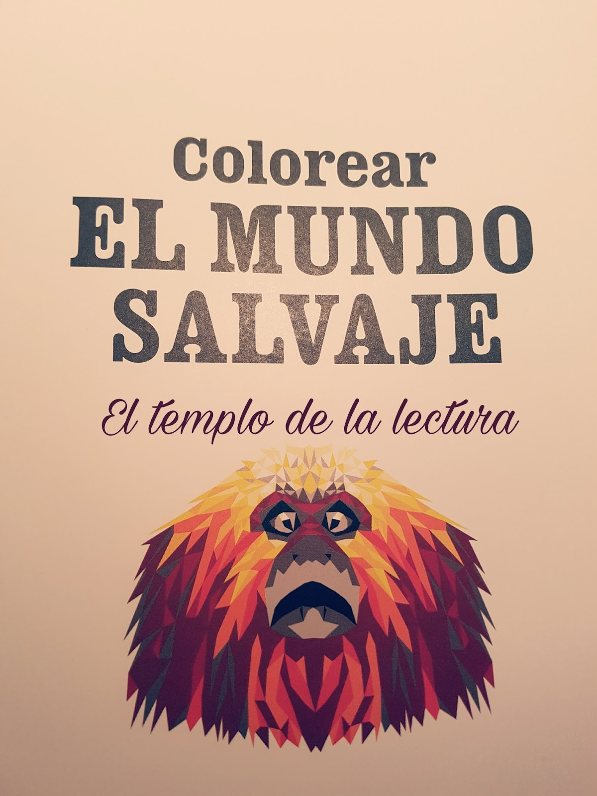 El templo de la lectura: Colorear EL MUNDO SALVAJE - Hope Little y ...
