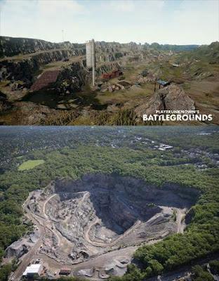 6. Quarry (Erangel) - West Roxbury Quarry, AS