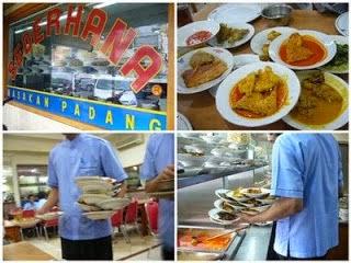 Ada restoran yang tersebar di setiap daerah di Indonesia dan sangat terkenal kelezatan mas  Padang