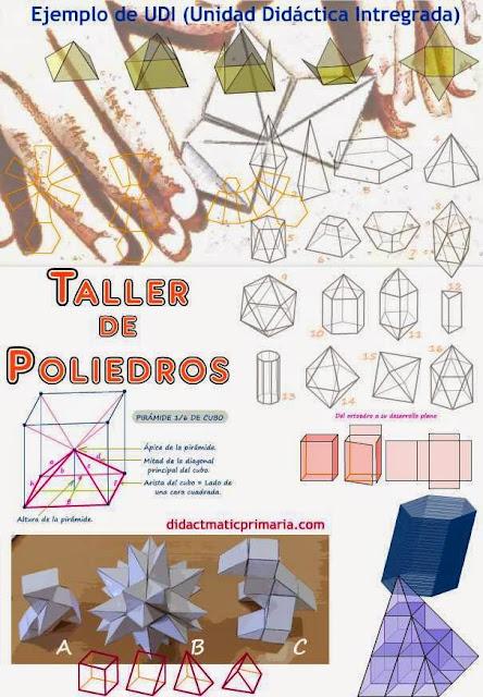 Taller de poliedros. Ejemplo de Unidad Didáctica Integrada.