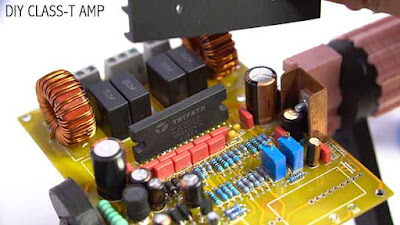 Class T Amplifier DIY PCB Schematic gerber
