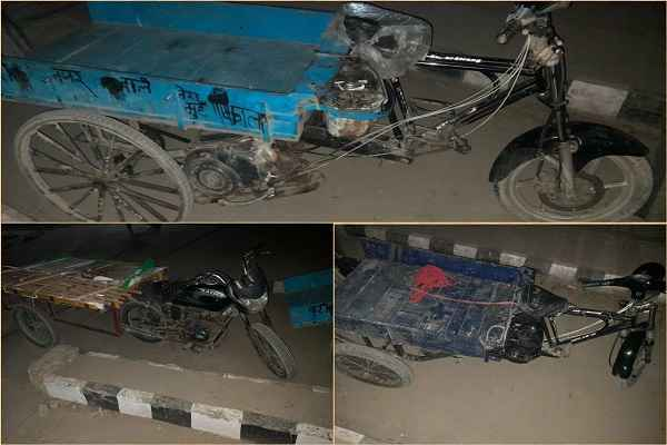faridabad-police-banned-jugad-vehicle-in-city