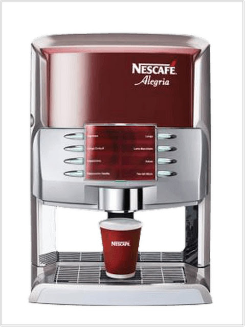 NESTLE COFFEE MAKER;Nestle Coffee Machine Nescafe Alegria 8/60. ;Nescafe Alegria 8/60;