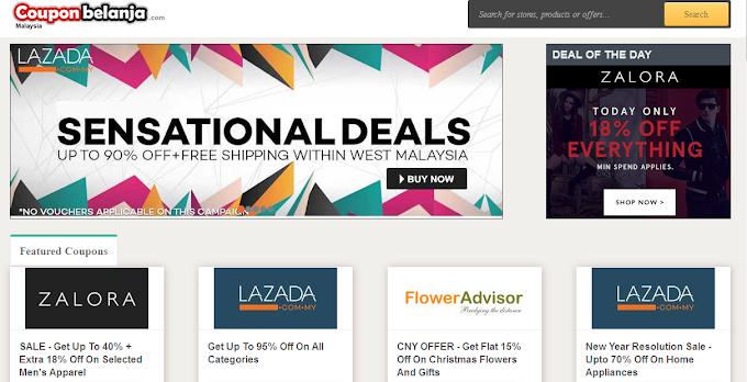 Jimat Berganda Shopping Online Di CouponBelanja Tahun Baru Cina Ini