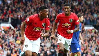 Highlight Man United 4-0 Chelsea, 12 Agustus 2019