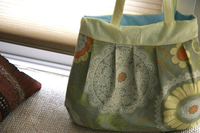 Pleated Purse Bag Tutorial