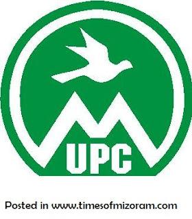 Mizoram UPC History - MIZORAMA UPC A LO PIAN DAN
