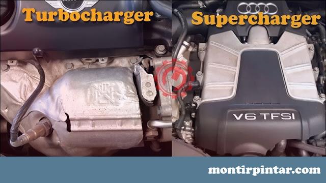 perbandingan turbocharger dan supercharger